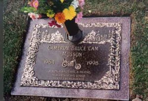 Cam's resting place